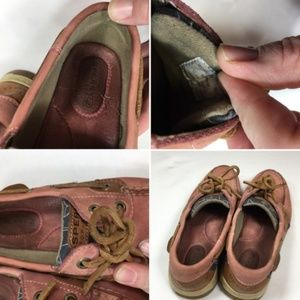 Sperry Shoes - Rose Sperry Top-Sider Boat Shoes w/ Whales 6M